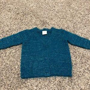 Gymboree teal sweater